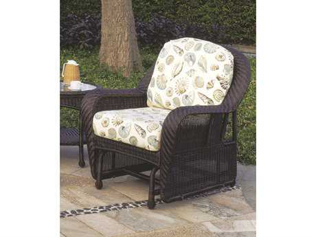 South Sea Rattan Key West Wicker Lounge Chair