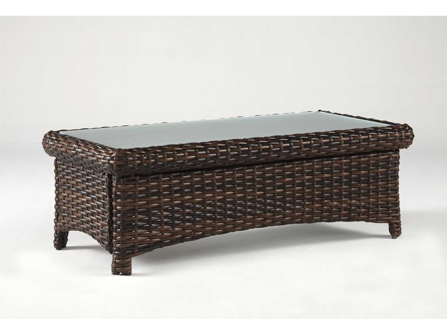 South Sea Rattan St Tropez Wicker 48 39 39 X 24 39 39 Rectangular