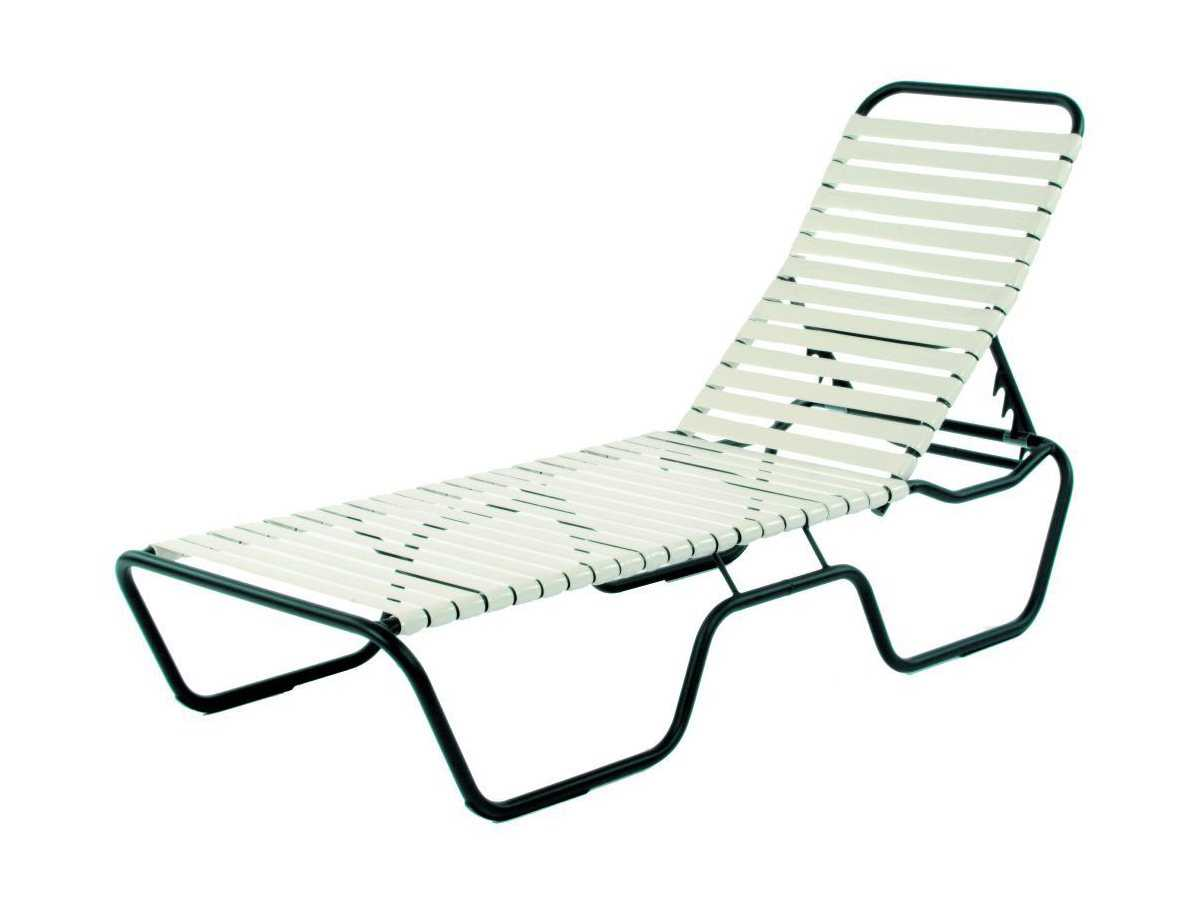 Suncoast sanibel strap aluminum side adjustable chaise for Aluminum strap chaise lounge