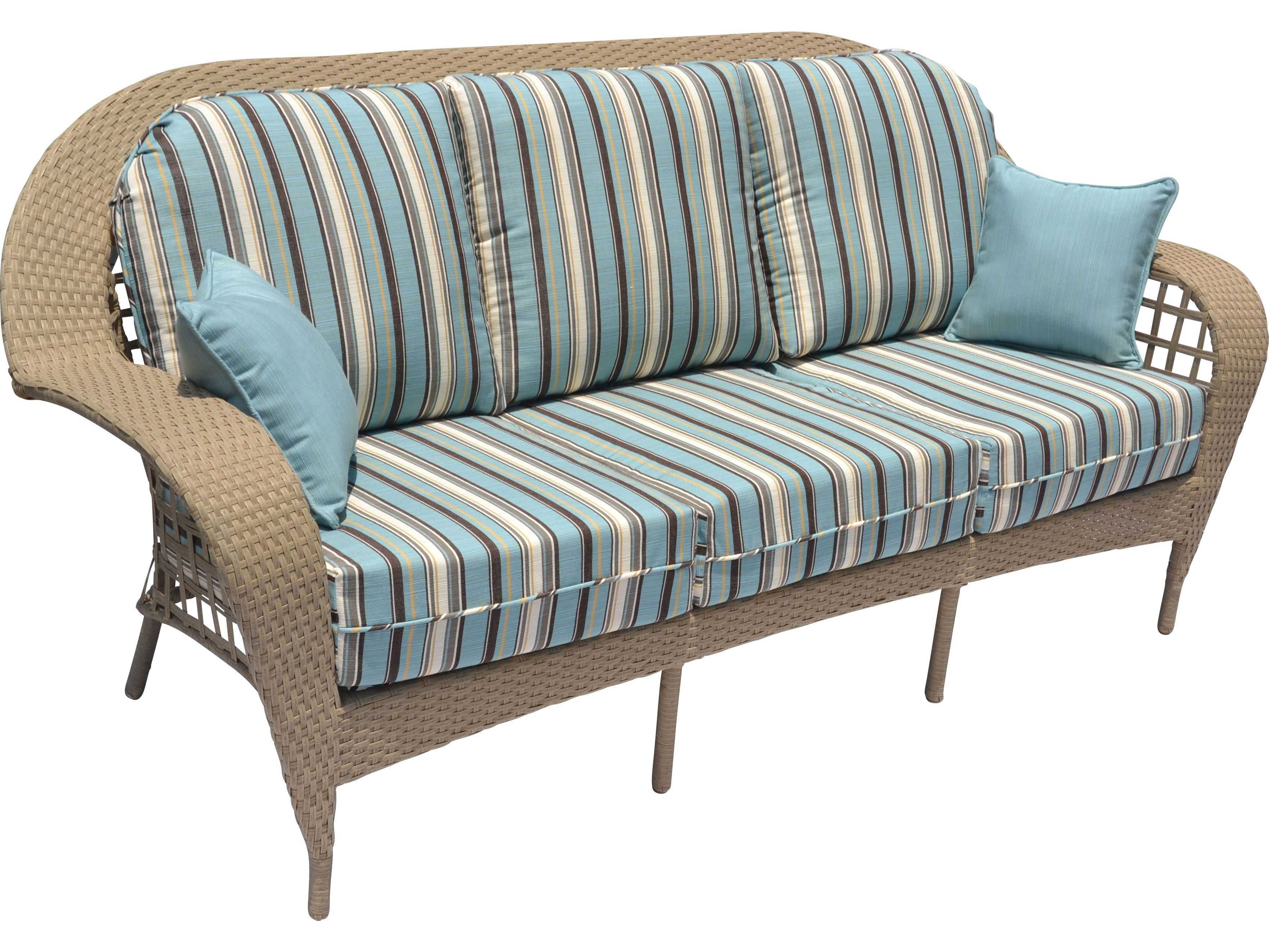 Suncoast Sedona Wicker Sofa