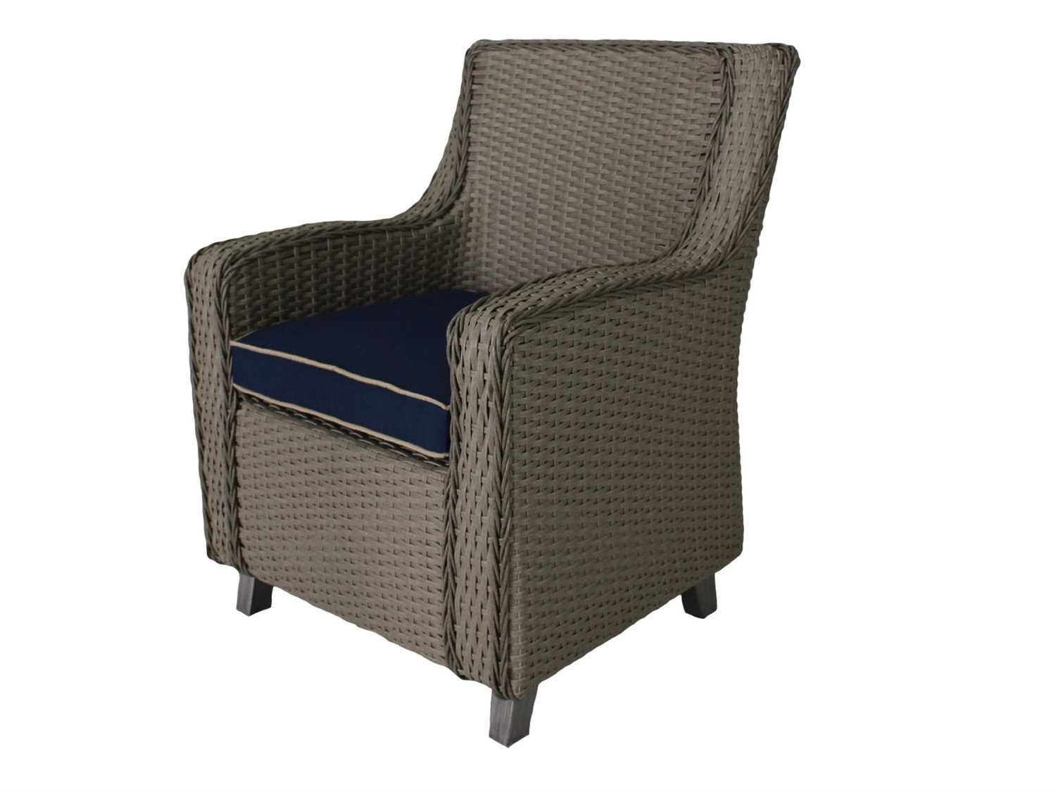 Suncoast Haven Wicker Dining Chair