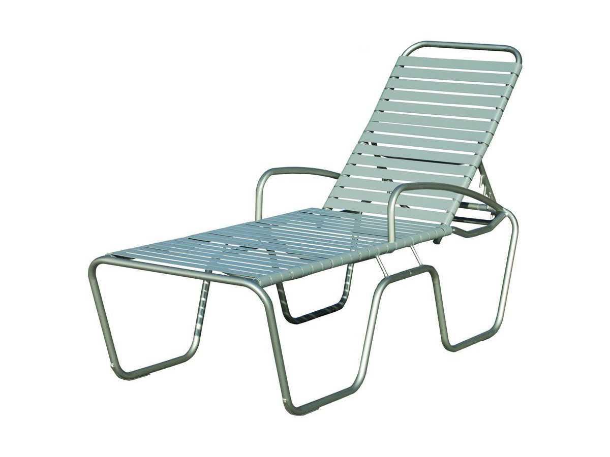 Suncoast sanibel strap aluminum arm adjustable chaise - Chaise longue aluminium ...