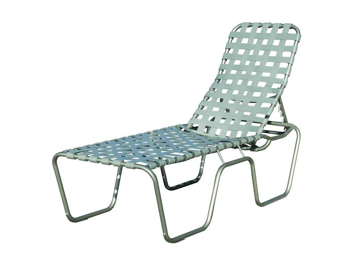 Suncoast sanibel cross strap cast aluminum stackable for Cast aluminum chaise