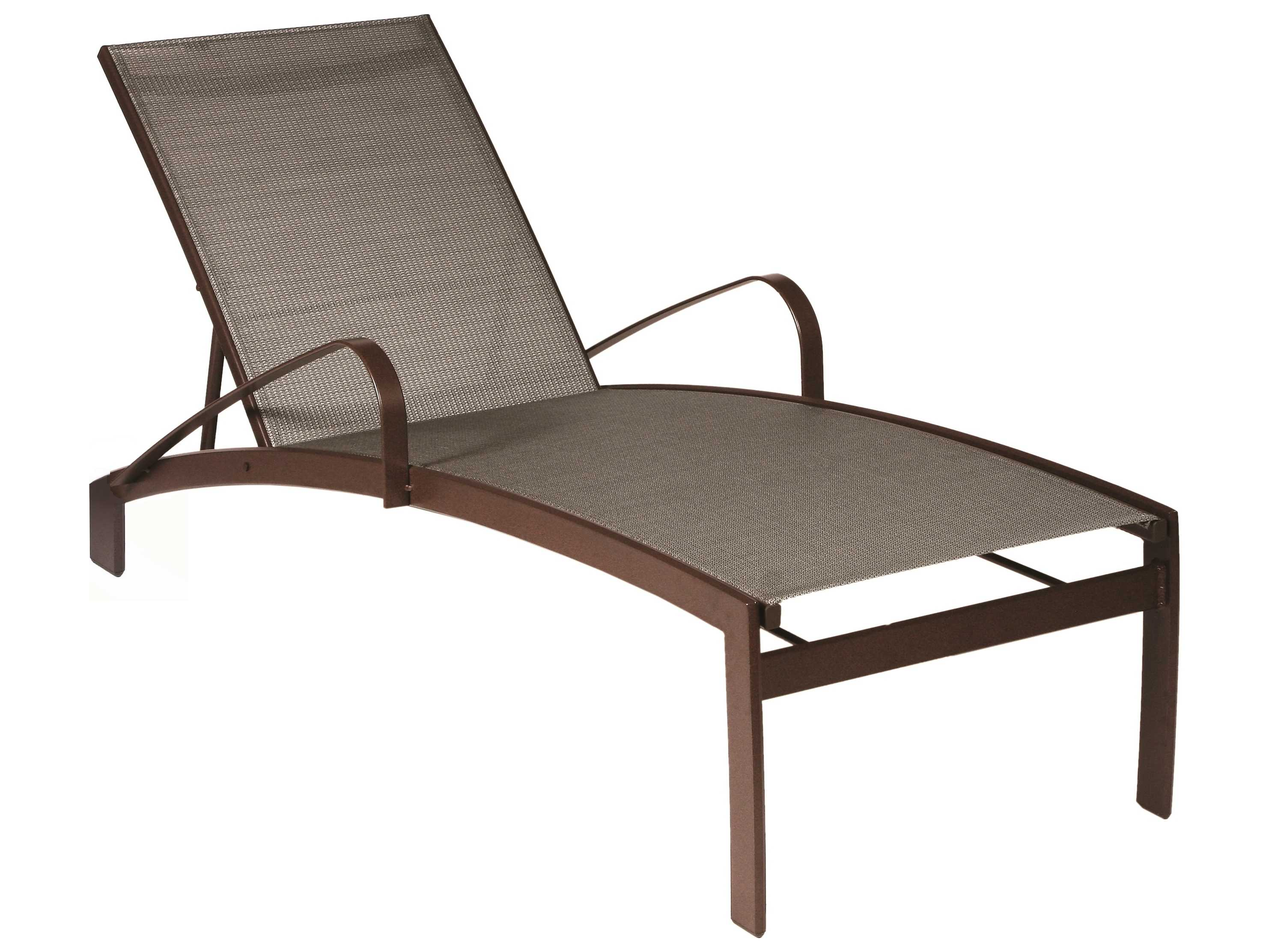 Suncoast vision sling cast aluminum chaise lounge 7989 for Aluminum chaise lounges