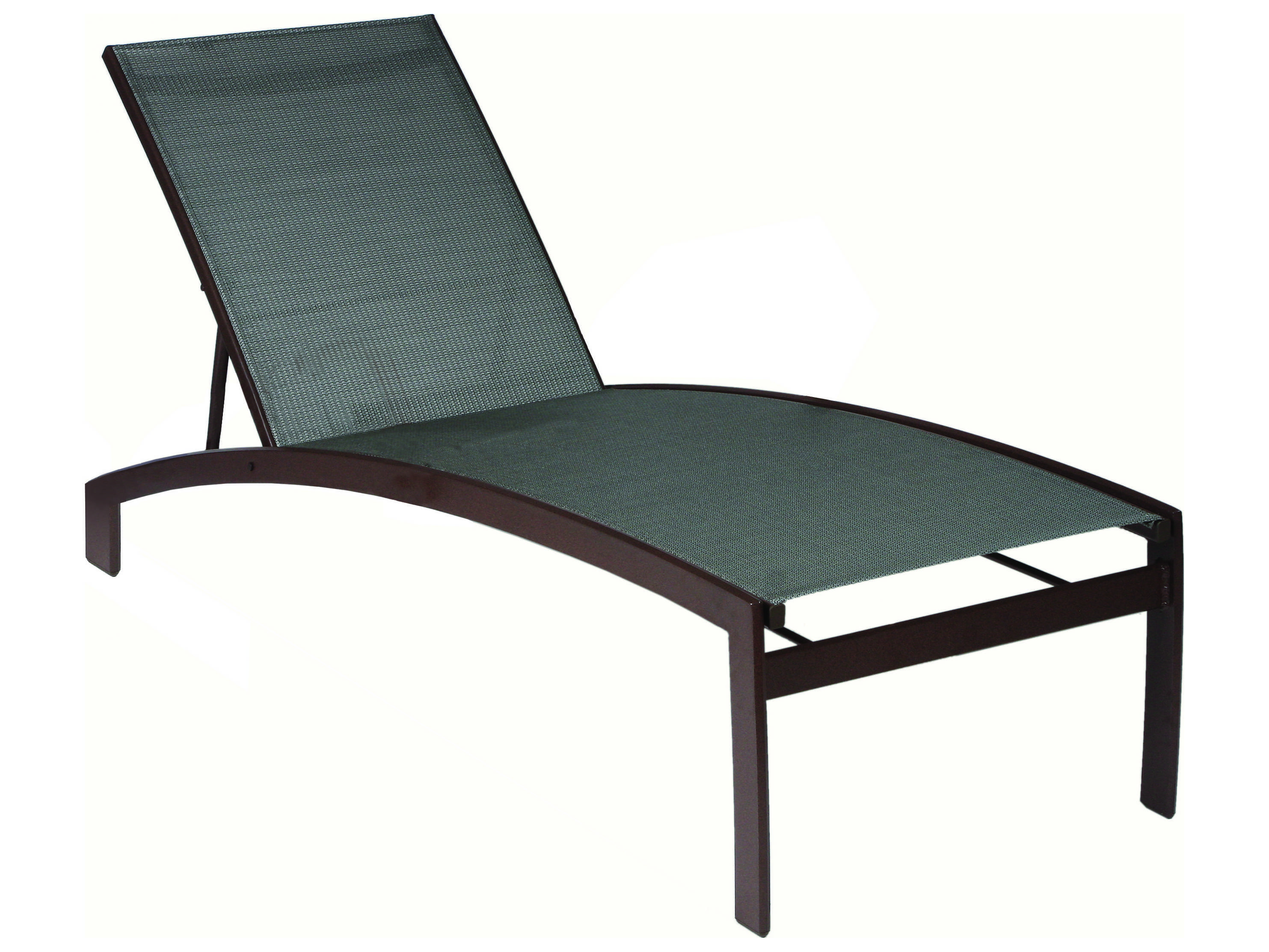 Sling chaise lounge fusion outdoor sling chaise lounge for Chaise restaurant