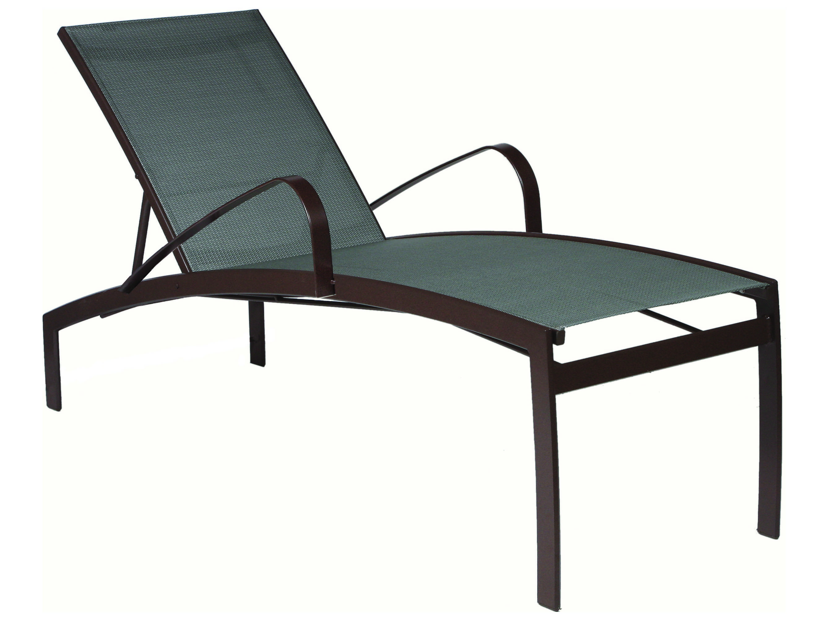 Suncoast vision sling cast aluminum chaise lounge 7994 for Aluminum chaise lounges