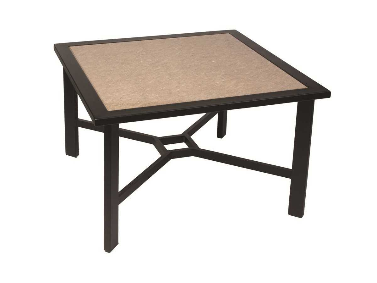 Suncoast Madrid Cast Aluminum 45 Square Dining Table