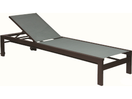 Suncoast Vectra Bold Sling Chaise Lounge With Wheels E491