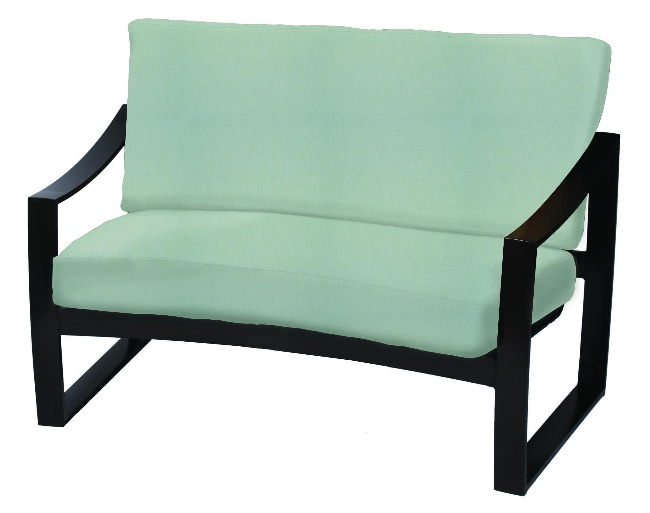 Suncoast pinnacle cushion aluminum conversation lounge set pincst - Conversation set replacement cushions ...