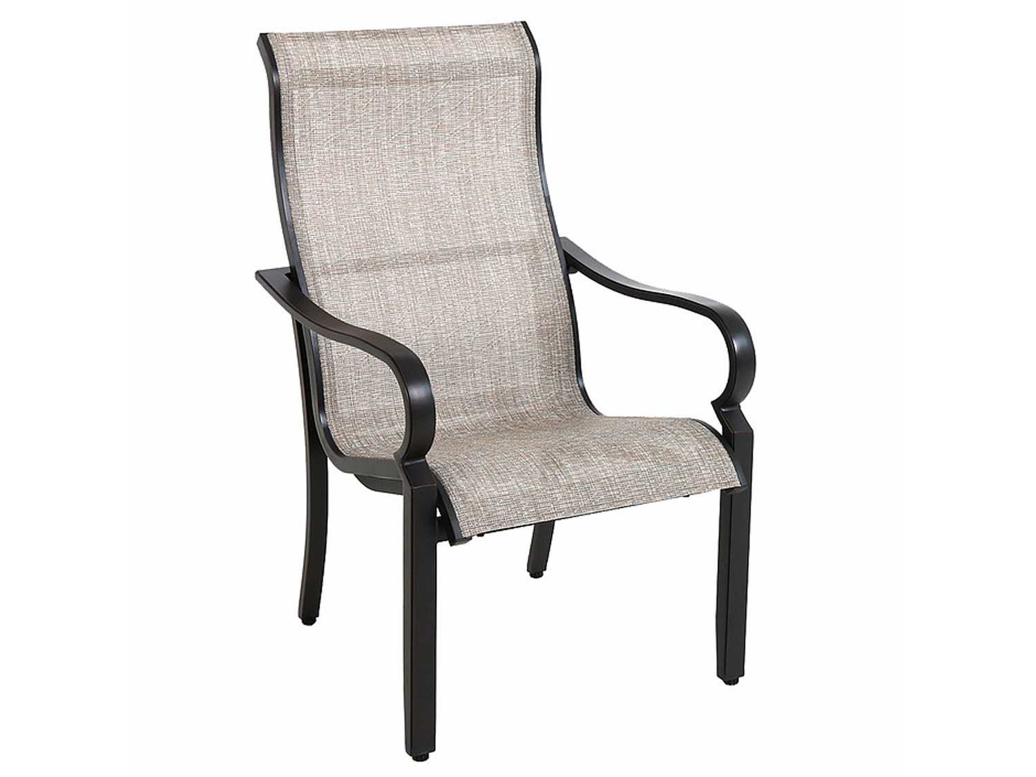 Aluminum Sling Patio Chairs Shop Allen Roth Set Of 6