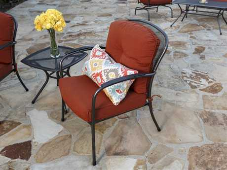 Sunvilla Monaco Aluminum 1 Person Cushion Conversation Patio Lounge Set