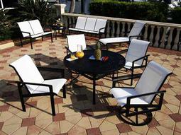 Suncoast Cast Aluminum Dining Sets