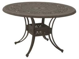 Suncoast Paradise Cast Aluminum 54 Round Dining Table