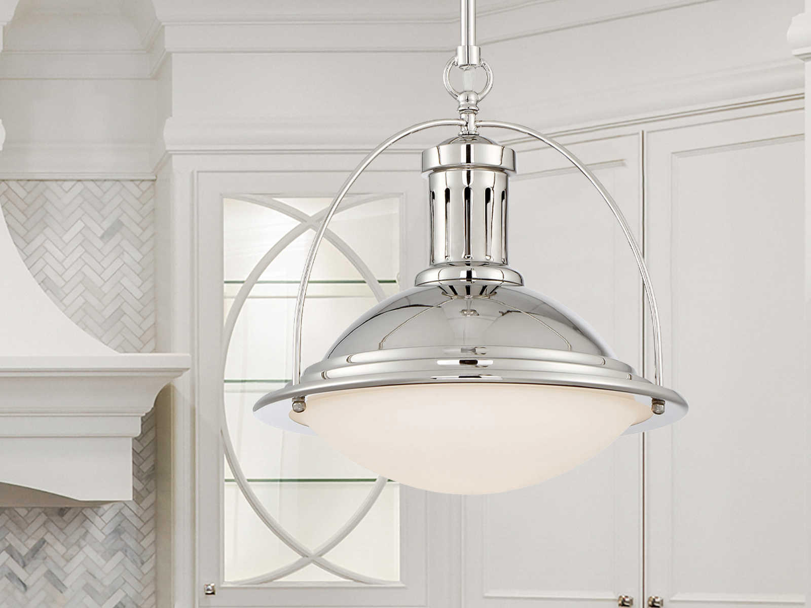 Savoy house contempo trends pendant polished nickel for Savoy house