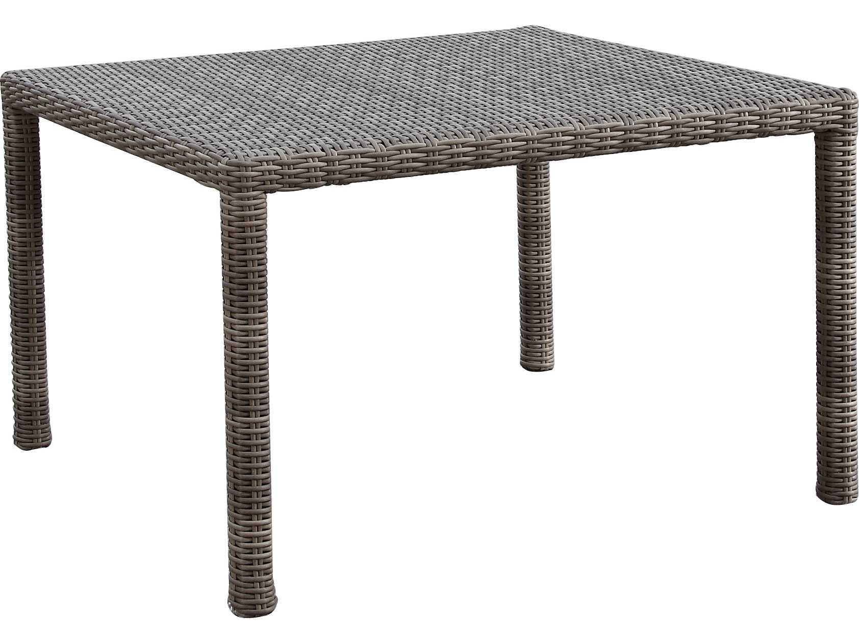 Sunset West Coronado Wicker 48 Square Dining Table 2101 T48