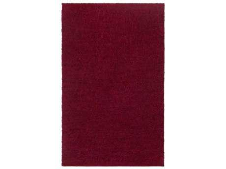 Surya Arlie Modern Red Machine Made Synthetic Solid 2' x 3' Area Rug - ARE9001-23