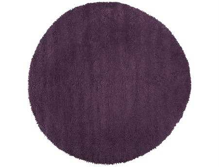 Surya Aros Transitional Purple Hand Made Wool Solid Round 10' Area Rug - AROS15-10RD