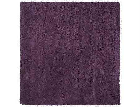 Surya Aros Transitional Purple Hand Made Wool Solid Area Rug- AROS-15-SQU