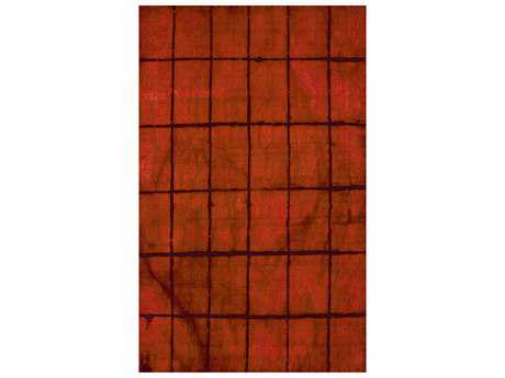 Surya Cruise Transitional Red Hand Made Wool Geometric 2' x 3' Area Rug - CRS7003-23