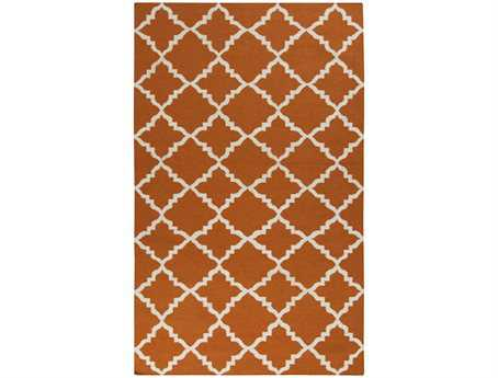 Surya Frontier Transitional Orange Hand Made Wool Moroccan 2' x 3' Area Rug - FT448-23