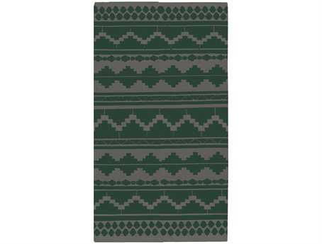 Surya Frontier Transitional Green Hand Made Wool Southwestern 2' x 3' Area Rug - FT498-23