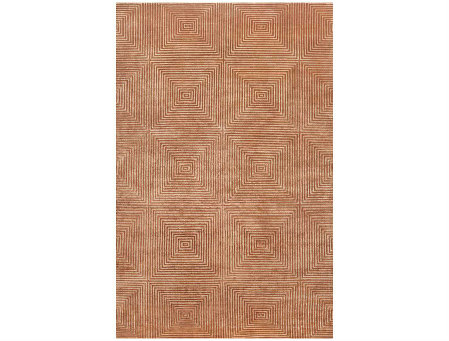 Surya candice olson luminous rectangular orange area rug for Candice olson area rugs