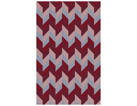 Surya Talitha Transitional Red Hand Made Wool Geometric 2' x 3' Area Rug - TAL1005-23
