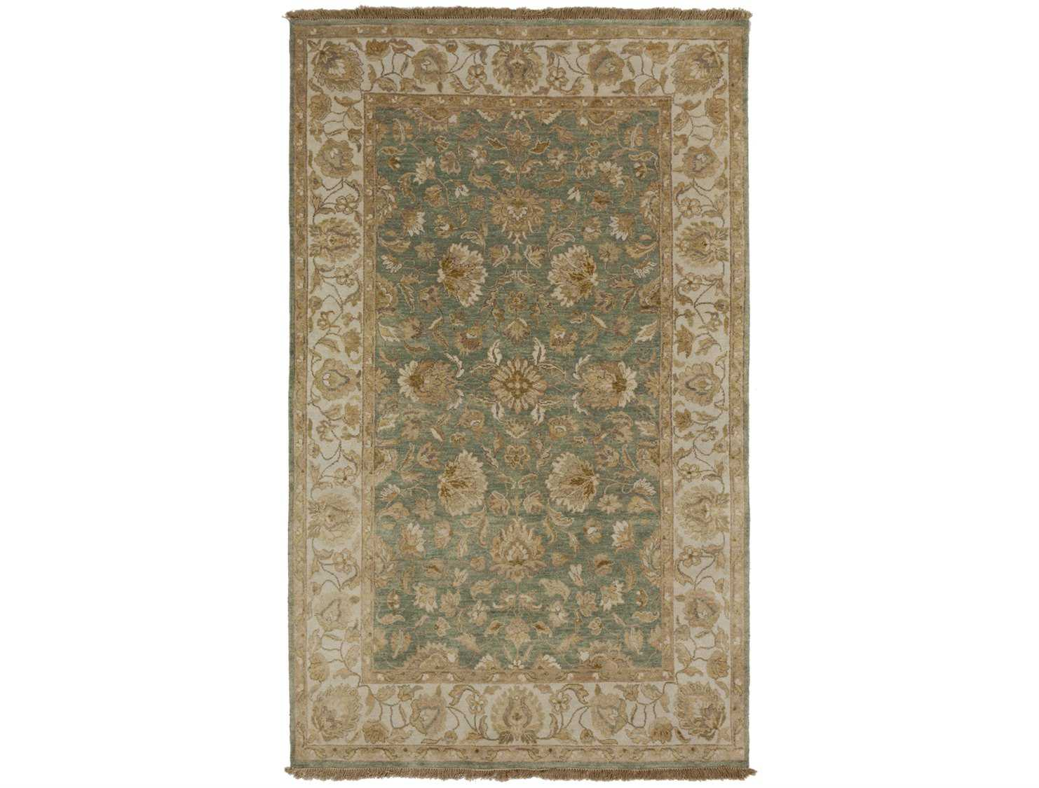 Surya candice olson temptress rectangular green area rug for Candice olson area rugs
