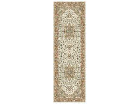 Tayse Fairmont Transitional Beige Machine Made Jute Geometric Area Rug- 0FMT1222-RUN