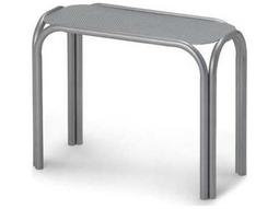 Telescope Casual Embossed Aluminum Top 25 x 11 Rectangular Chaise Table
