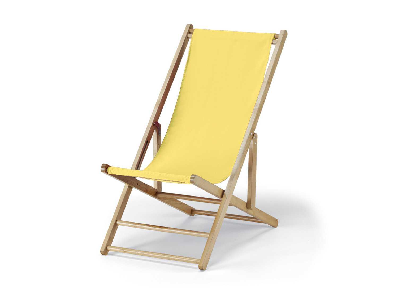 Telescope Casual Cabana Beach Wood Folding Lounge Chair