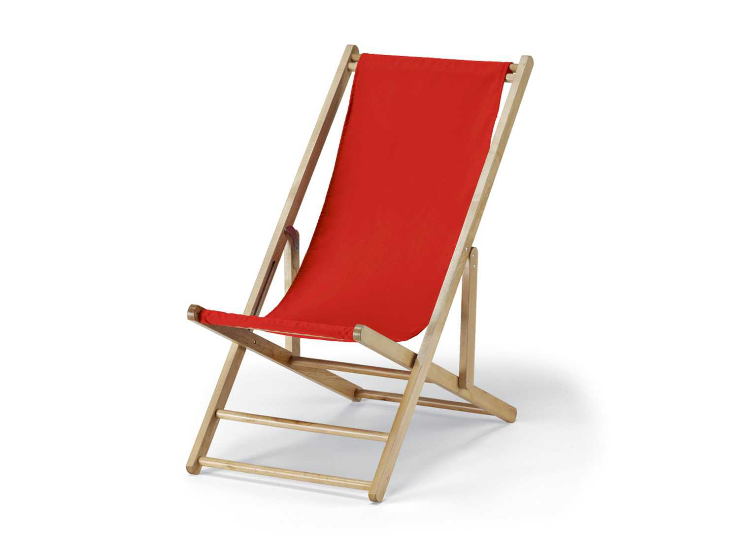 Telescope Casual Cabana Beach Wood Folding Lounge Chair
