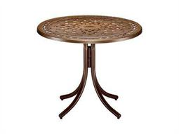 Telescope Casual Cast Aluminum 36 Round Dining Table
