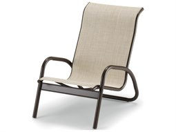 Gardenella Sling Aluminum Stackable Side Chair