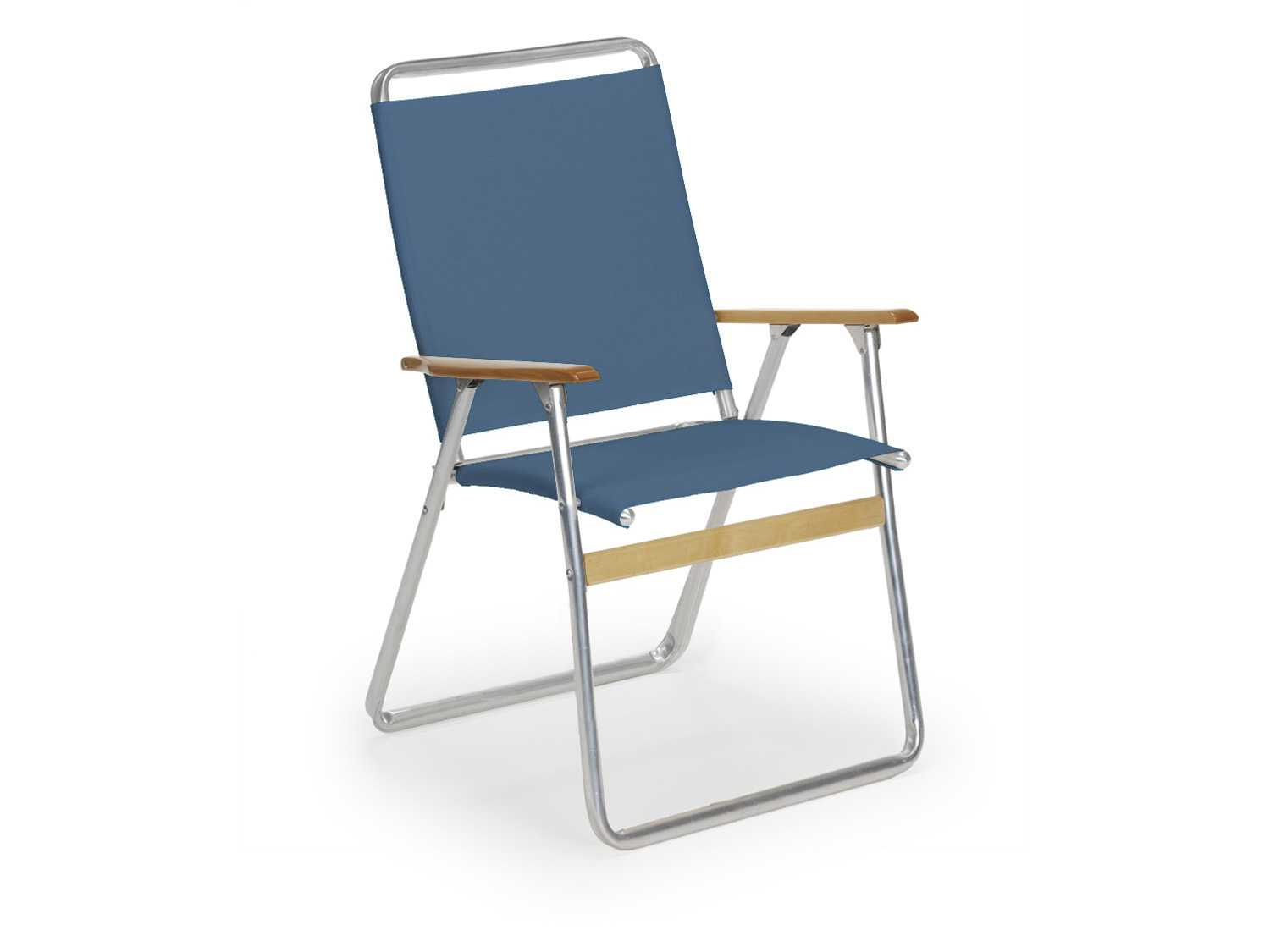 telaweave aluminum easy in out high back folding arm chair 811