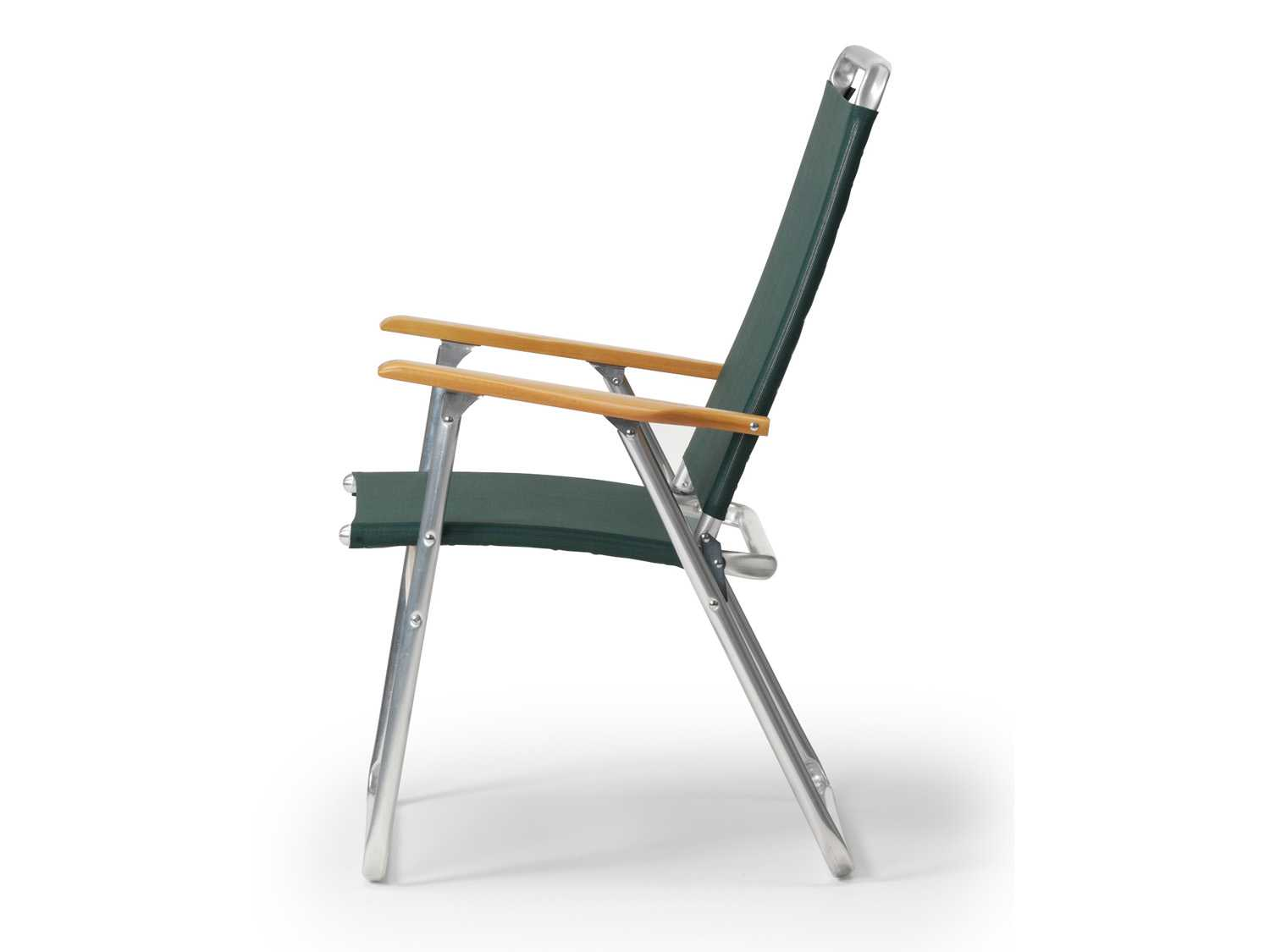 Telescope Casual Telaweave Aluminum High Back Folding Arm Chair