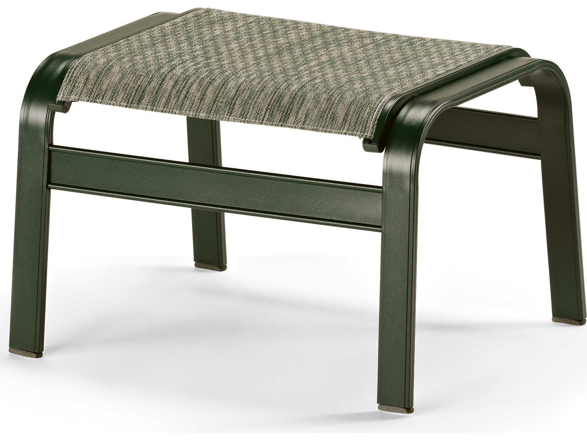 telescope casual primera sling aluminum ottoman 9800. Black Bedroom Furniture Sets. Home Design Ideas