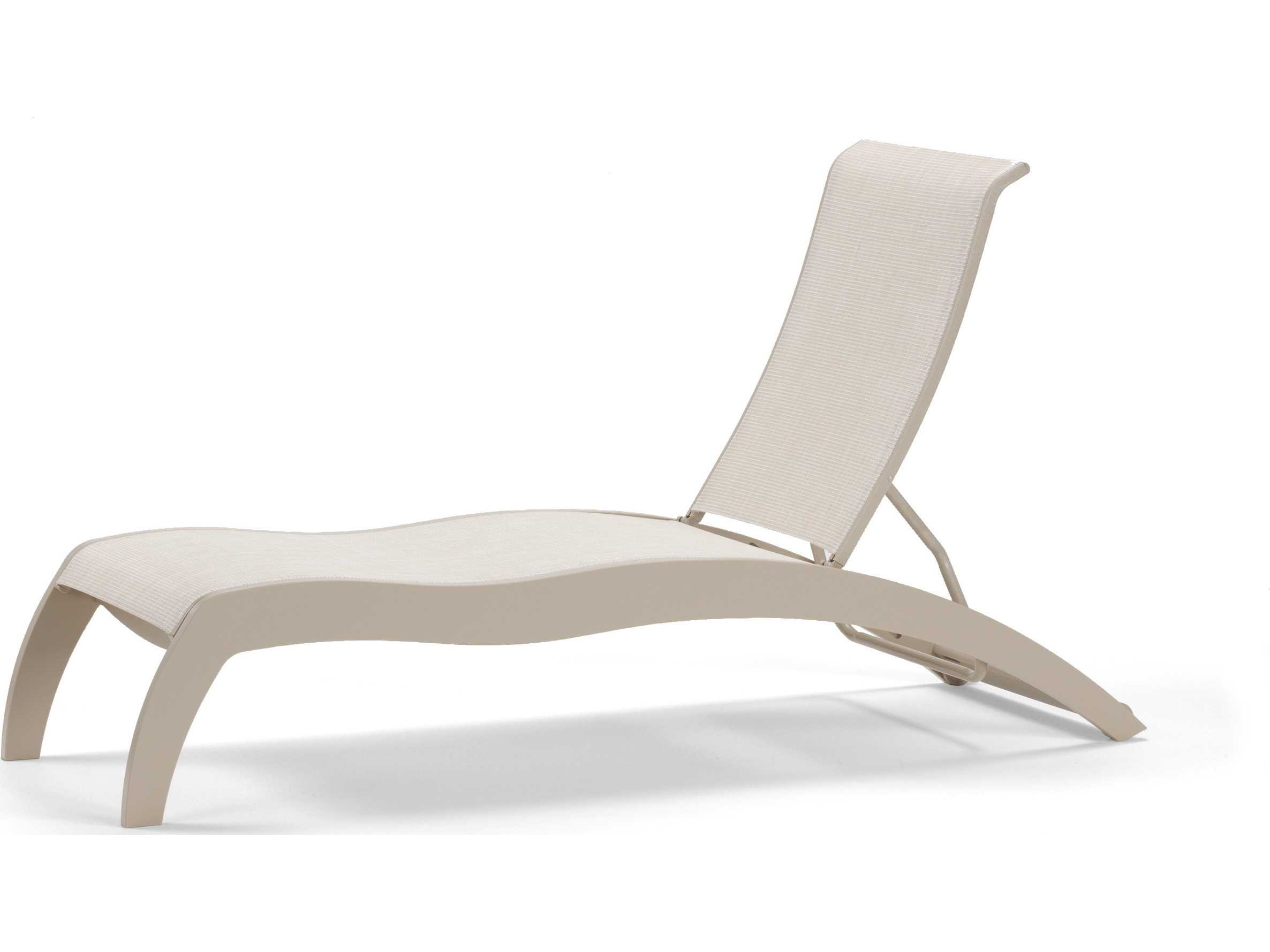Telescope Casual Dune MGP Sling Recycled Plastic Chaise Lounge