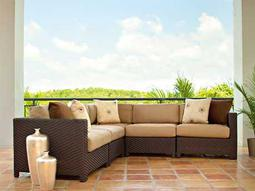 telescope casual la vie wicker sectional list price free shipping from - Outdoor Sectionals