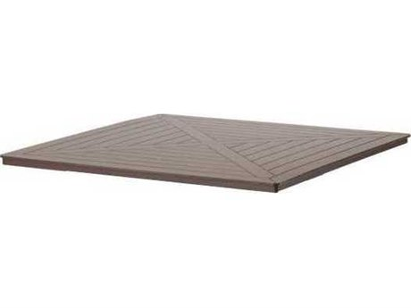Telescope Casual Marine Grade Polymer 42 Square Chat Table Top w