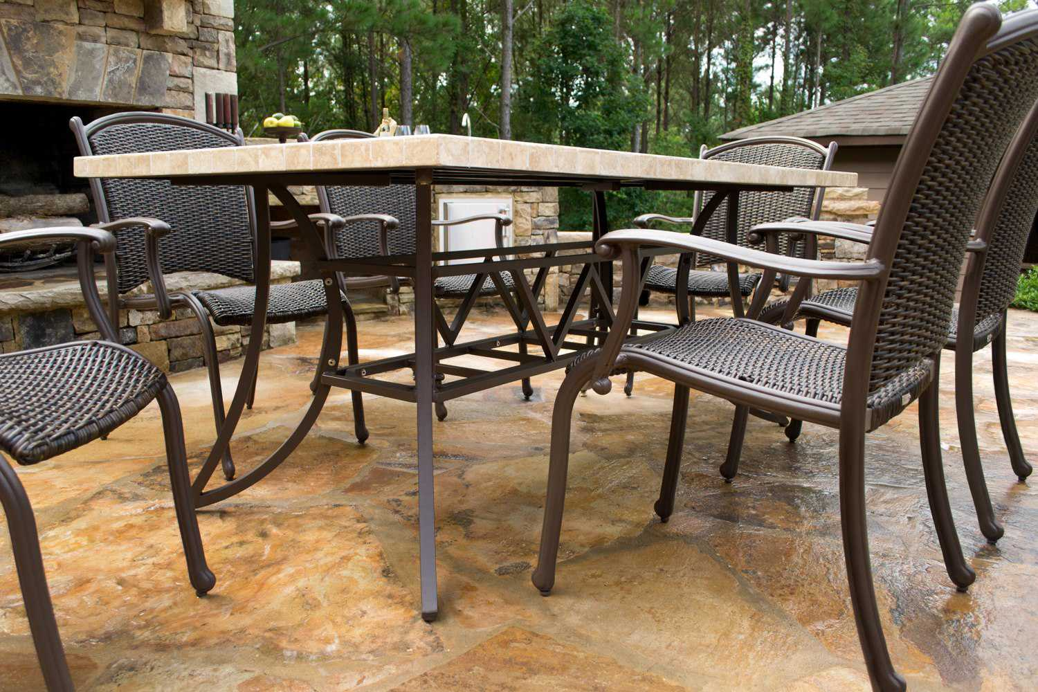 Tortuga Outdoor Marquesas Wicker 7 Piece Dining Set MQS