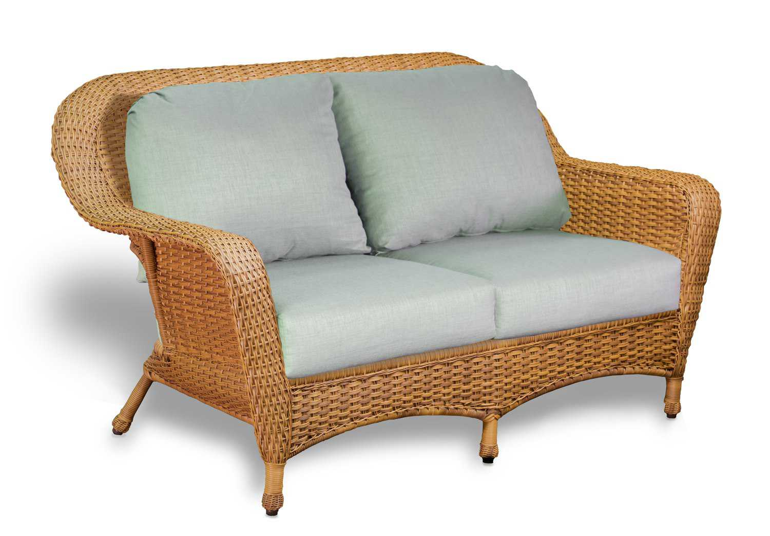 Tortuga Outdoor Lexington Wicker Cushion Loveseat Lex Ls1