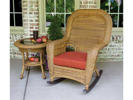Tortuga Lexington Wicker 1 Person Cushion Conversation Patio Lounge Set