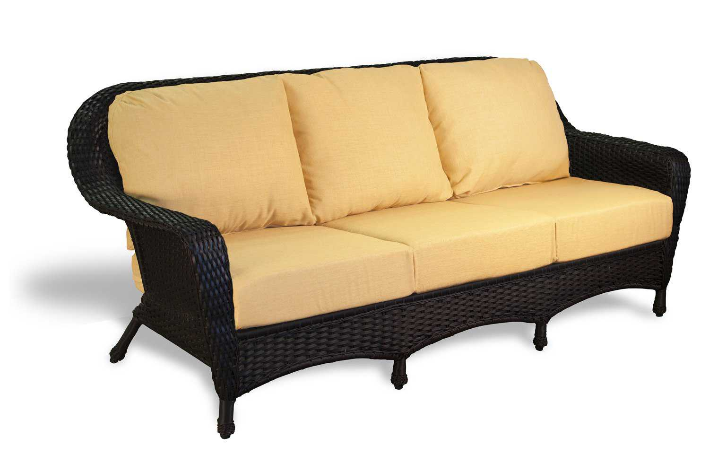 Tortuga Outdoor Lexington Wicker Cushion Sofa