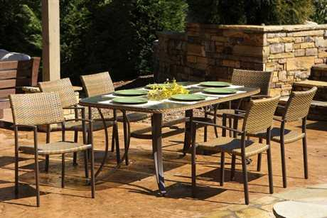 Tortuga Outdoor Maracay Wicker 7 Piece Dining Set