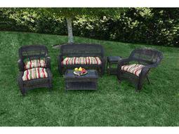 Tortuga Outdoor Portside Wicker Cushion 6-Piece Lounge Set