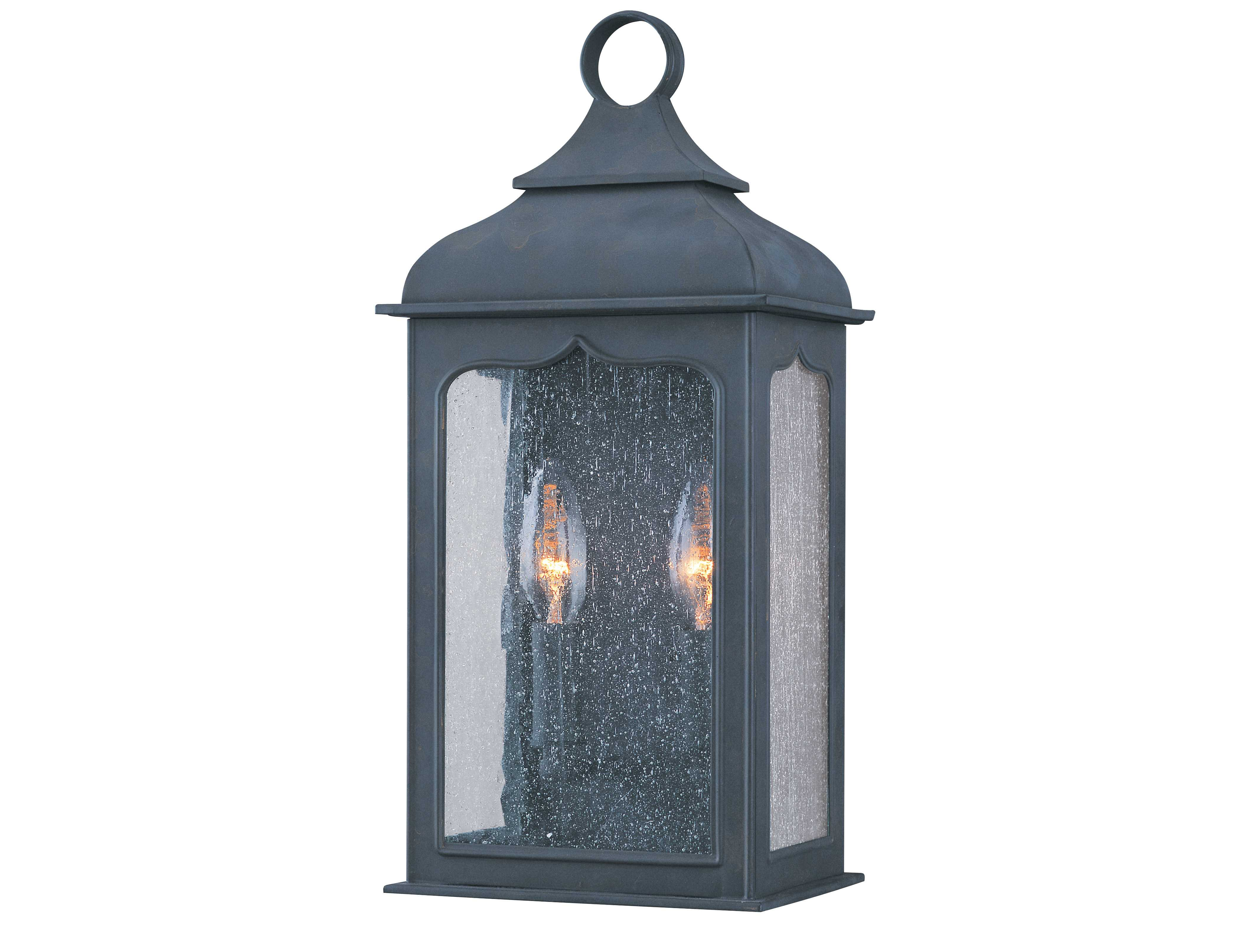 Troy Lighting Henry Street Colonial Iron Two Light Outdoor