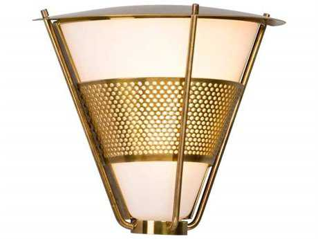 Troy Lighting Rexford Historic Brass LED Outdoor Wall Light