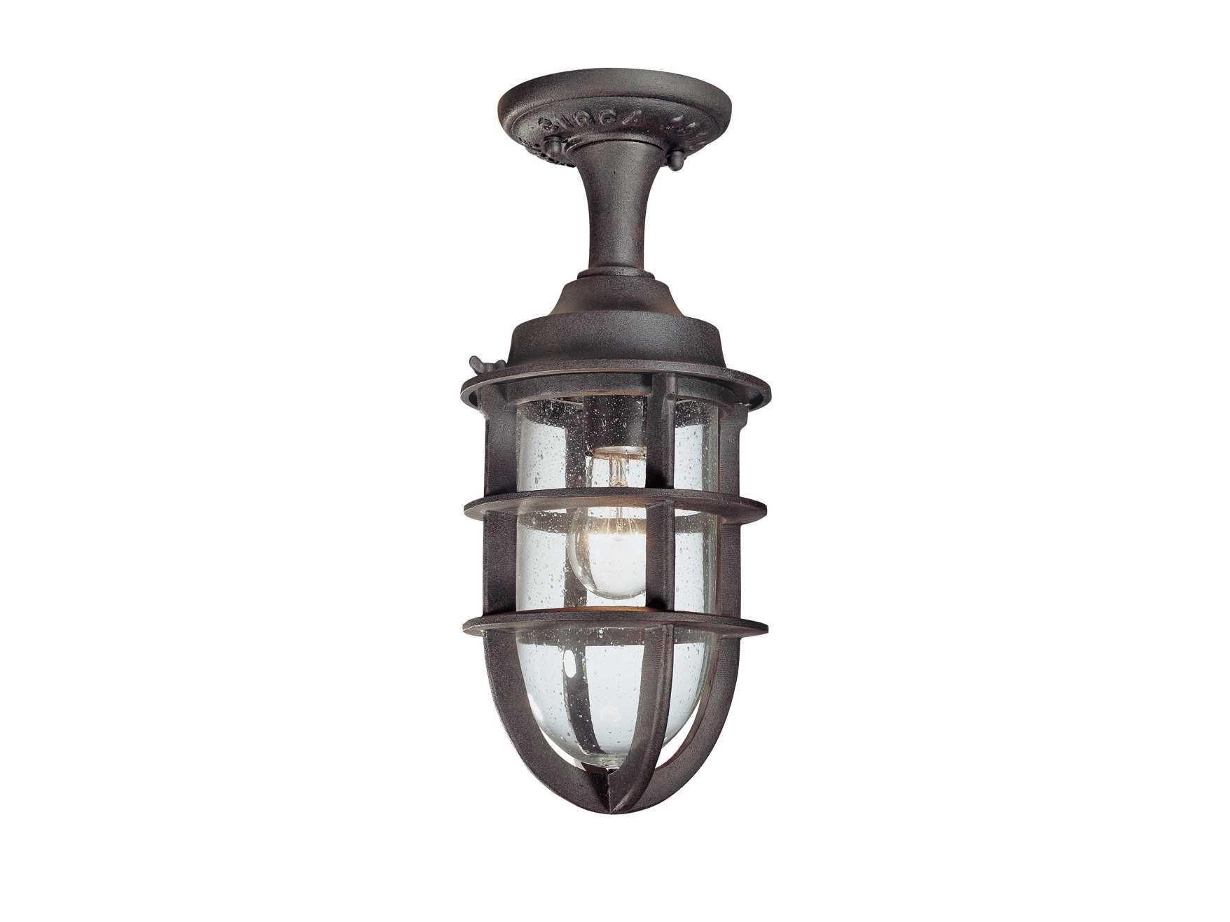 troy lighting wilmington nautical rust semi flush mount light. Black Bedroom Furniture Sets. Home Design Ideas
