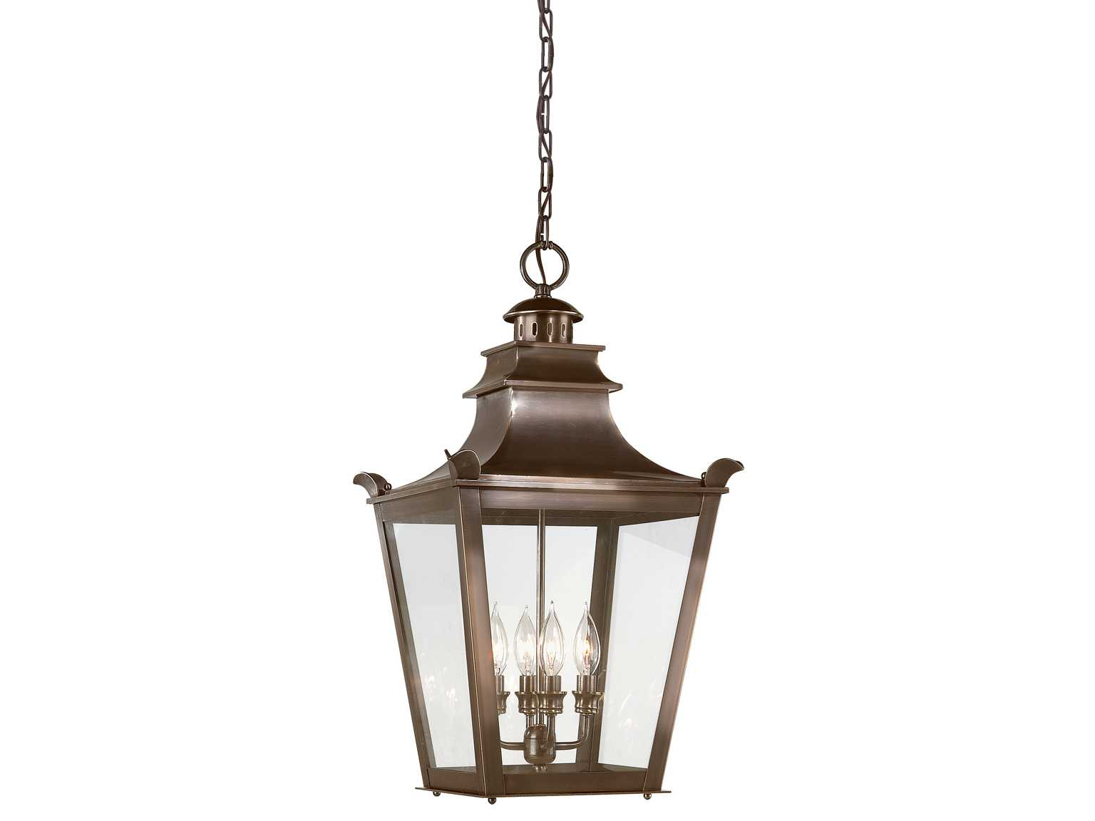Troy Lighting Dorchester English Bronze Four Light Outdoor